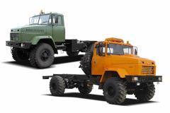 Автомобиль-шасси КрАЗ-5233НЕ