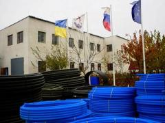 Polyethylene pipes for gas