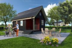 Быстросборные дома, каркасные деревянные дома.