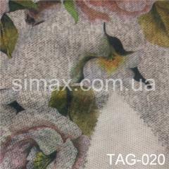 Ткань ангора принт, Код: TAG-020
