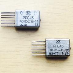 Relay RPS-43 RS4.520.735-02