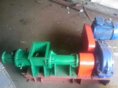 Press a shnekovy extruder for production of