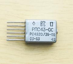 Relay RPS-43-OS RS4.520.735-02