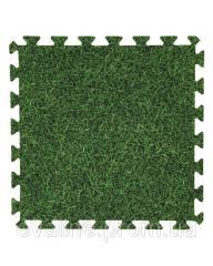 Мягкий пол (коврик-пазл) Eva-Line Трава 45*45*1 см