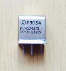 Реле РЭС-34 РС4.524.372