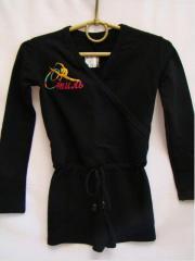 Training clothes for rhythmic gymnastics