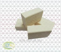 Toilet soap of Gunn, 100 g, green, spotty, brown