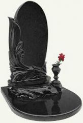 Гранитный памятник с вазой