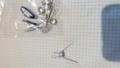 Колпачки для новогодних шаров диам. 60 мм ( 10 шт )