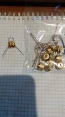 Колпачки для новогодних шаров диам. 80и100...