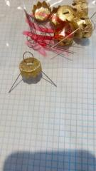 Колпачки для новогодних шаров диам. 150 мм (...