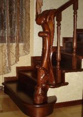 Handrail wooden exclusive