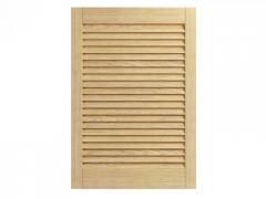 Жалюзийные дверцы деревянные (ставни)