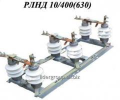 Разъединитель наружной установки поворотного типа РЛНД-10/400