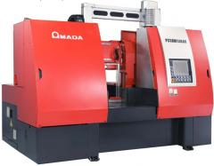 THE AUTOMATIC LENTOCHNOPILNY AMADA PCSAW-530AX/X MACHINE WITH PULSE TECHNOLOGY OF CUTTING