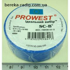 Insulating tape of PVC Prowest SC-B WE5413-1519