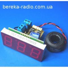 A-0.8 ampermeter ~ I = 0... 99.9 0.5%, red