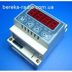 Time NPRRV-1 relay programmable, week with a