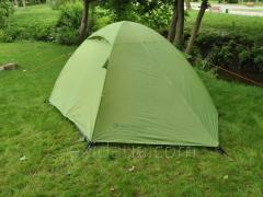 Tent tourist MOUSSON FLY 3 LIME