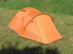 Палатка туристическая MOUSSON ATLANT 3 AL ORANGE