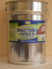 Mastic bituminous and rubber MBKH