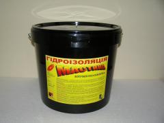 Mastic bitumno polymeric