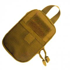 Bag for accessories with MOLLE a coyote of