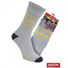 Socks antibacterial XSport gray Poland 10003110