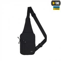 Bag through a shoulder for the hidden carrying