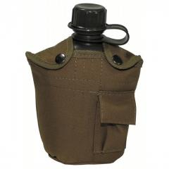 Flask in MFH cover 1 liter a coyote 33213r