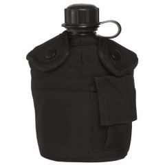 Flask with a glass black 14506002