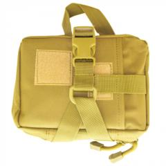 Bag the first-aid kit with MOLLE a coyote of