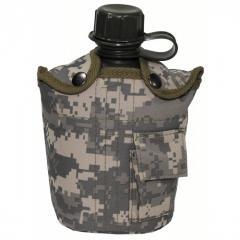Flask in MFH cover 1 liter of ACU 33223Q
