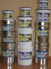Coverings for a waterproofing - mastic bituminous,