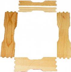 Заготовка рамки для сотового меда под рамку 435Х230 по 8шт.