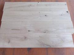 Parquet of Oak House of 17х70х500 mm oak rustic