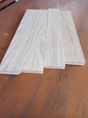 Parquet of Oak House of 70х250 mm ash-tree