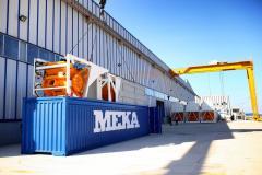 Compact concrete plant MEKAMIX 30 MB-K30