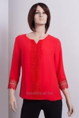 Blouses are coral