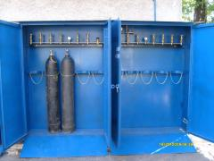 Gas cryogenic equipmen