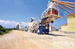 Mobile concrete plant MEKAMIX 100M MB-100M
