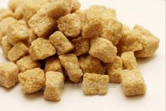 Sugar of brown lumpy 500 g. For export. A box of 6