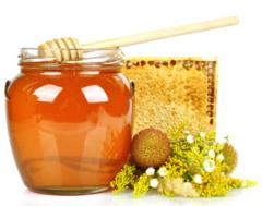 Les herbes bois miel pour l'exportation.