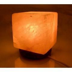 Светильник из гималайской соли куб