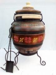 Тандыр украинский коричневый