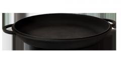 Чугунная крышка-сковородка 340 мм