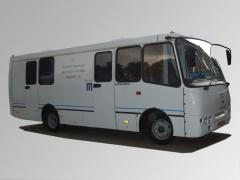 Mobile X-ray flyurografichesky office to