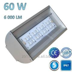 LED street lamp, 60W-6000Lm-IP67, TZ-LSTREET-60