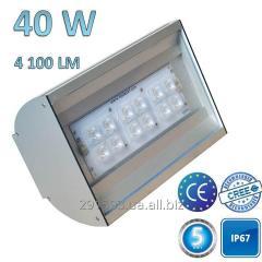 LED street lamp, 40W-4100Lm-IP67, TZ-LSTREET-40