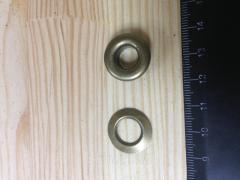 Люверс, внутренний диаметр 9 мм, высота 7 мм, цвет - антик, в упаковке - 20 шт., артикул СК 5086